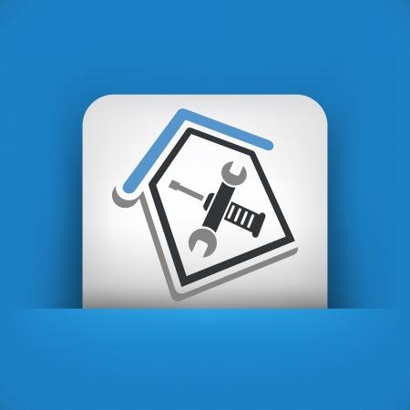 House repair Stock Vector - 25186337