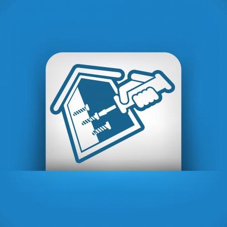 screwed: House repair Illustration