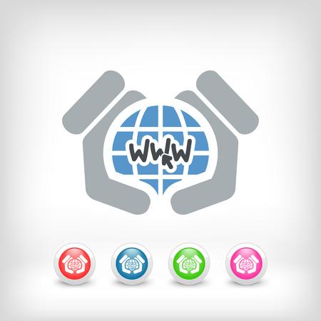 dl: World web concept