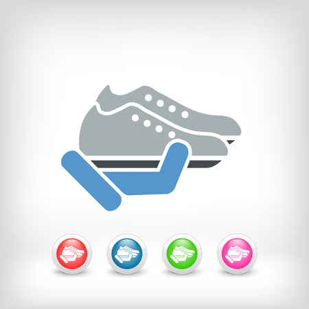 Shoes icon Stock Vector - 25405386