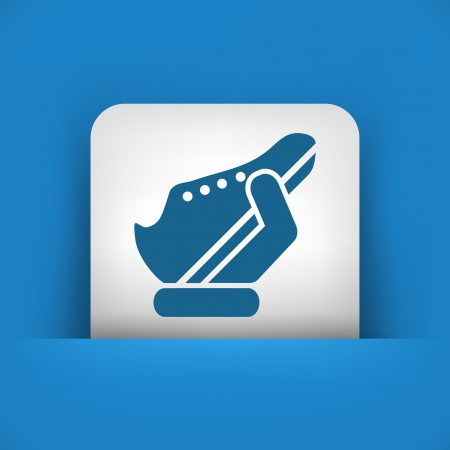 Shoes icon Stock Vector - 25405783