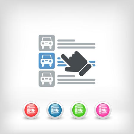 listings: Car list selection