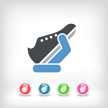 Shoes icon Stock Vector - 25406119