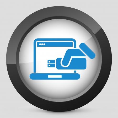 tb: Usb computer icon