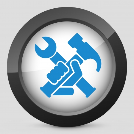 adjusting activity: Hammer and wrench