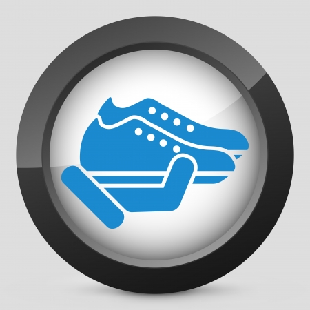 Shoes icon Stock Vector - 25406598