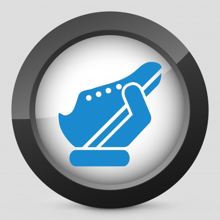 Shoes icon Stock Vector - 25406599