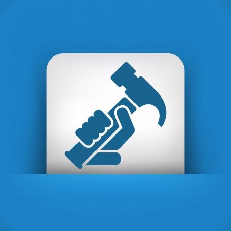 bricolage: Hammer icon