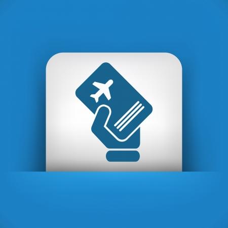 Travel document Stock Vector - 25406794
