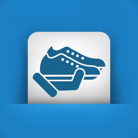 Shoes icon Stock Vector - 25406793