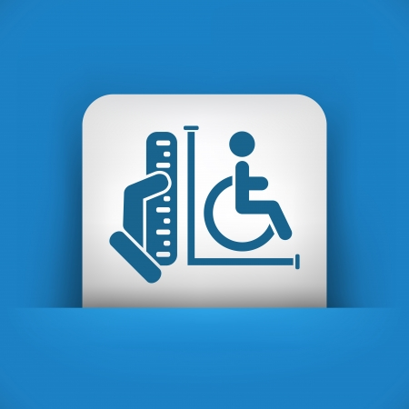 disabled access: Disabled access area