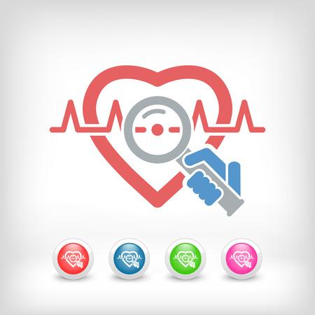 heart monitor: Heart medical exam
