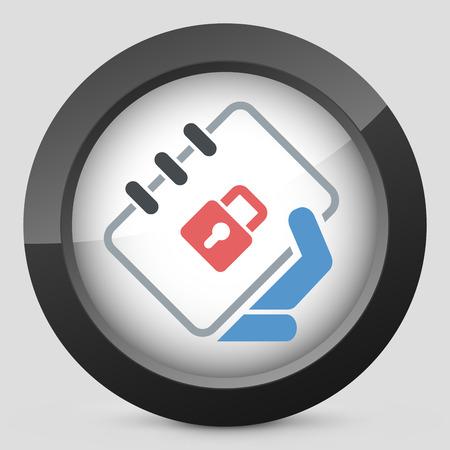 Book protection Stock Vector - 26132883