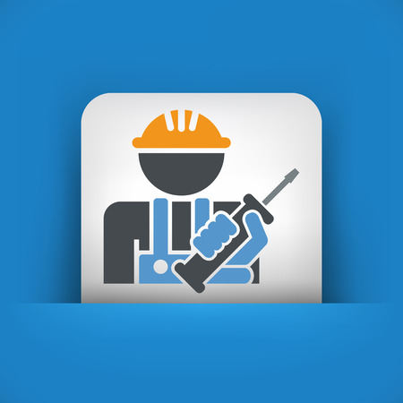 unscrew: Worker icon