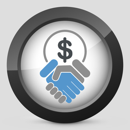 bribe: Financial agreement icon