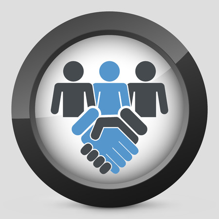 People agreement icon Vector