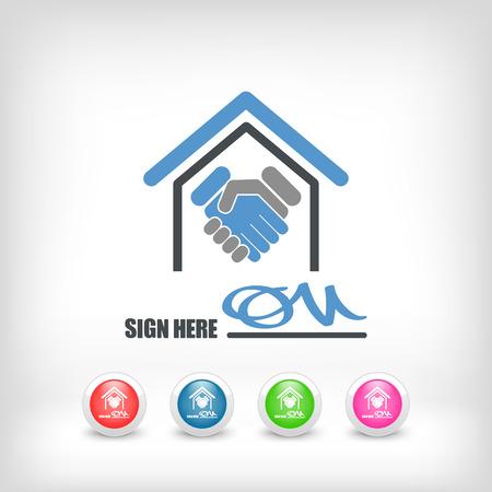 signed: Signed document icon
