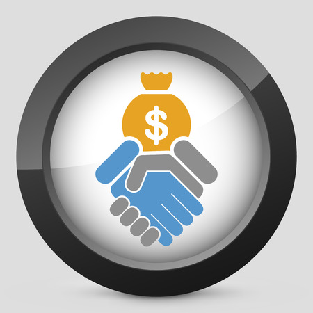 creditor: Financial agreement icon
