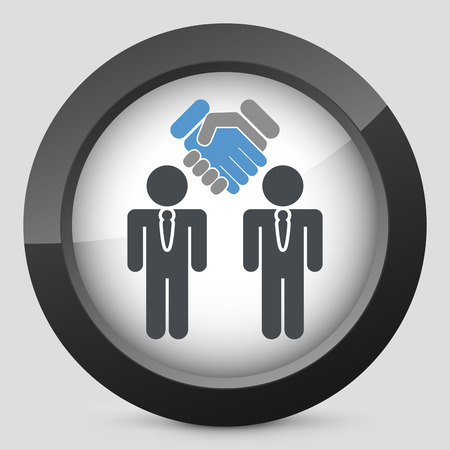 Enterprise agreement icon Vector
