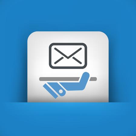 sender: Postal agencies icon