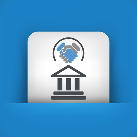 advocacy: Legal agreement icon