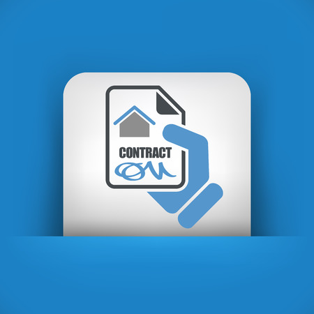 ratification: House contract icon