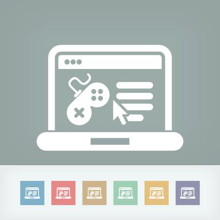 Videogame website icon