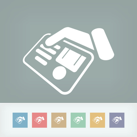 Identity card document