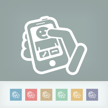 Incoming call icon Vector