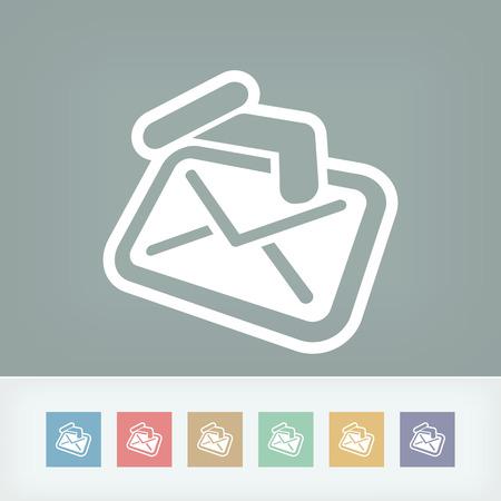 sender: Mail holding