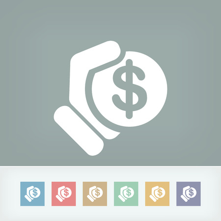 Money icon illustration Vector