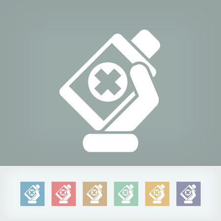 medical bottle: Medical bottle