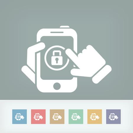 authentication: Device password Illustration