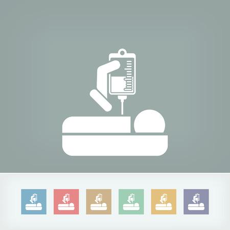 Hospital care Vector