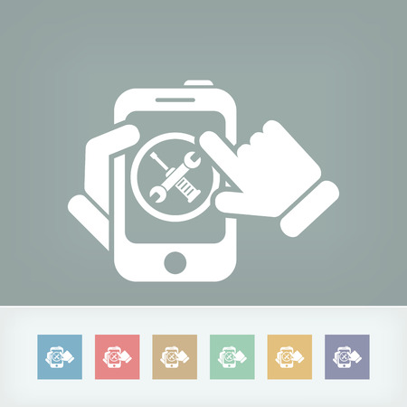 Device setting icon Vector