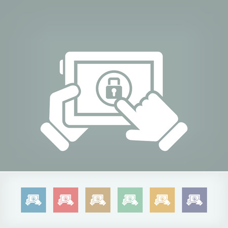 coded: Device password Illustration