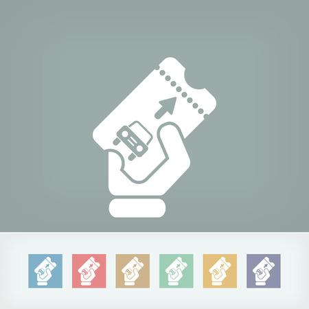deposit slips: Park card icon