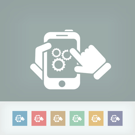 personalize: Setting device Illustration