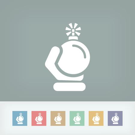 Bomb icon Stock Vector - 27150966