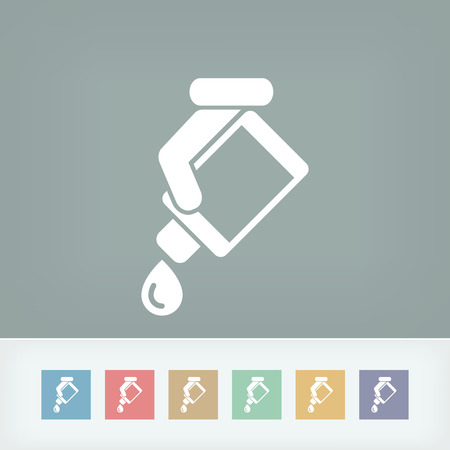 humidifier: Drop bottle