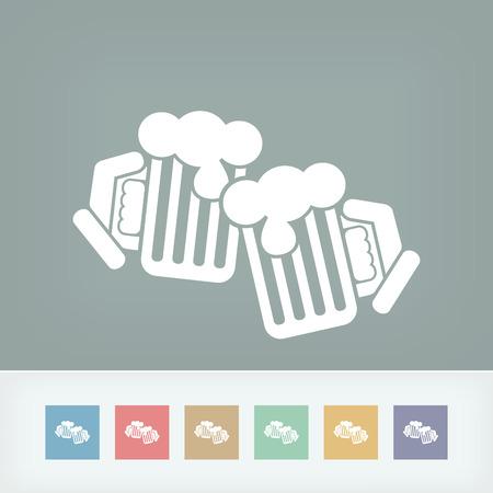 cin: Beer mug