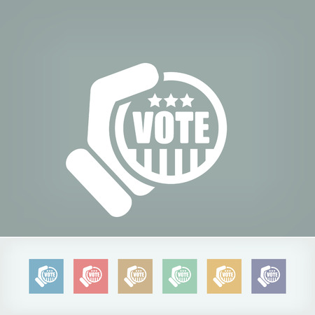 Vote icon Vector