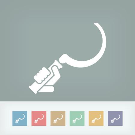 sickle: Sickle icon
