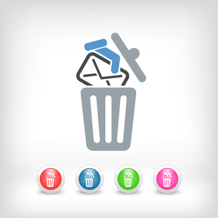 Trashing mail Vector