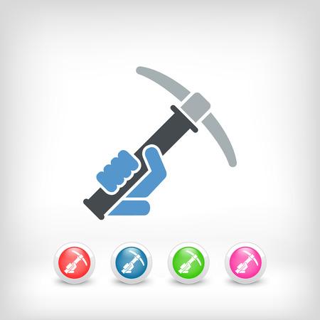 pickaxe: Pickaxe icon