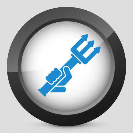 pitchfork: Pitchfork icon Illustration