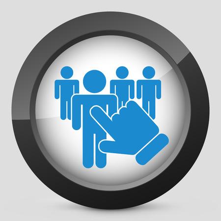 chosen: People selection icon