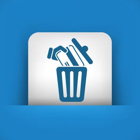 void: Credit card trashing Illustration