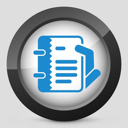 Notes icon Vector