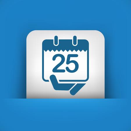 calendar design: Calendar icon Illustration